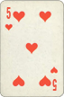 Five of Hearts